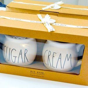 Rae Dunn Sugar and Cream